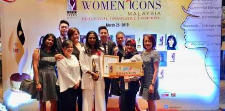 2019 Women Icons Malaysia Award for Anne Rajasaikaran