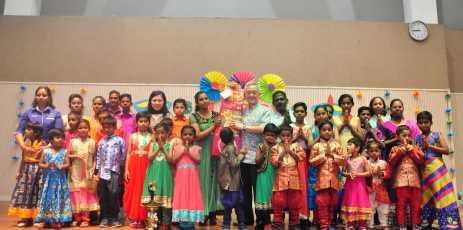 Budimas Lights Up Children's Lives This Deepavali