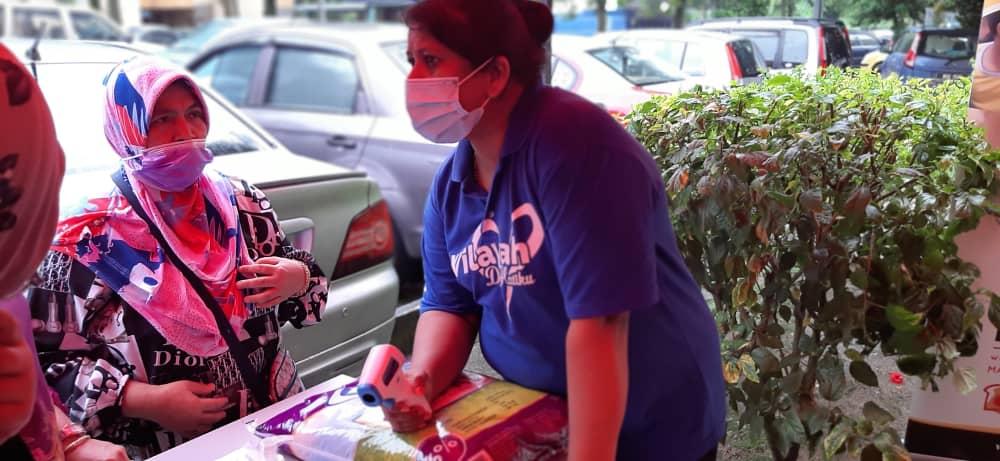 A 2nd Successful Charity Distribution To The Residents Of Pusat Perumahan (Ppr) Batu Muda, Kuala Lumpur